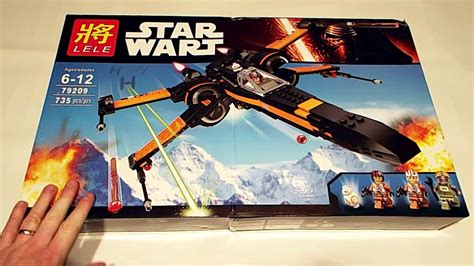 lego x wing fighter awakens review