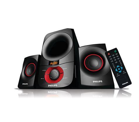 Speaker Komputer Philips multimedia speakers 2 1 mms6060f 94 philips