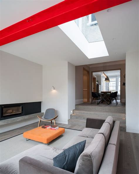 Living Room Extension Ideas by 1000 Ideas About Painted Beams On Master