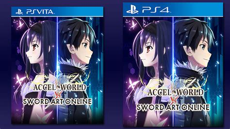 Ps4 Accel World Vs Sword accel world vs sword physical ps vita ps4 release available in asia on july 7 2017