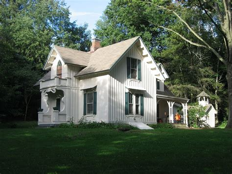Carpenter Cottage Plans by American Style Carpenter Revival