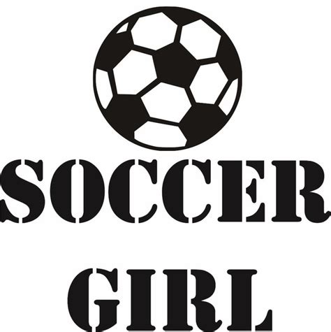 soccer decals for bedroom decal soccer girl ball player sports kids boy bedroom