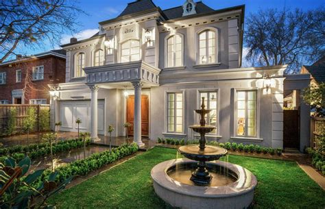 french style home  victoria australia floor plans homes   rich