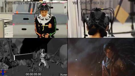 camilla luddington motion capture motion capture camilla luddington as lara croft during