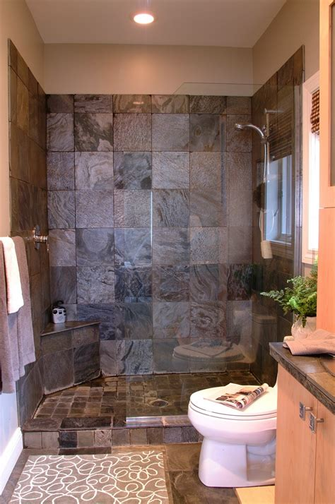 bathroom small bathroom ideas with walk in shower sloped