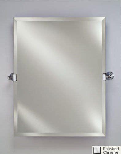 bathroom mirrors radiance round frameless with tilt afina corporation rm 620 cr 24 in radiance tilt brackets