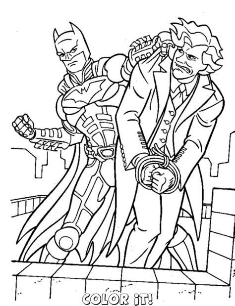 joker coloring pages easy dessin de coloriage batman gratuit 224 imprimer cp03807