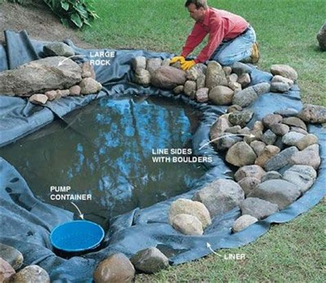 Your Own Backyard building your fish pond in your own backyard