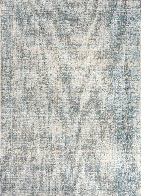 Area Rugs Wool Britta Collection 100 Wool Area Rug In White Blue Print By Jaip Burke Decor