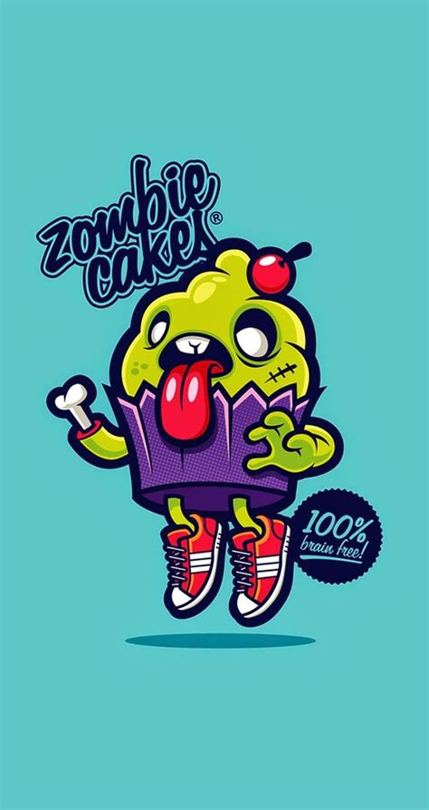 wallpaper cartoon zombie tap image for more iphone cute funny cartoon wallpaper