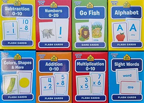 Mainan Edukasi School Zone Go Fish Alphabet Flash Cards 56 Cards check expert advices for multiplication flash cards 0 10 best rating product