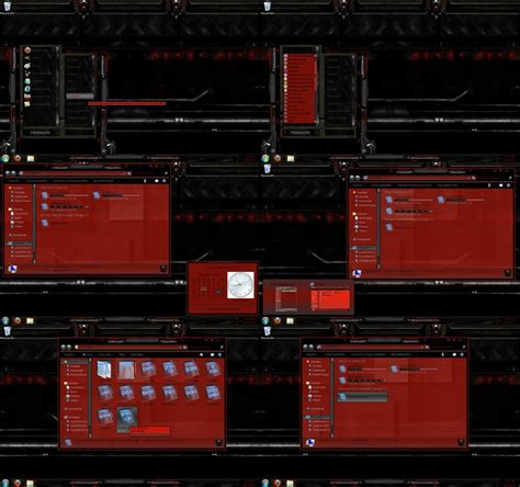 themes for windows 7 red windows 7 theme dark red by customizewin7 on deviantart