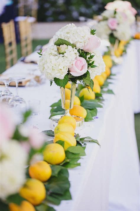 25 best ideas about lemon centerpiece wedding on