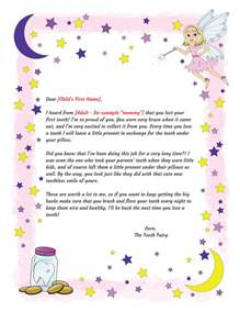 letter from the tooth template tooth letter tooth printable