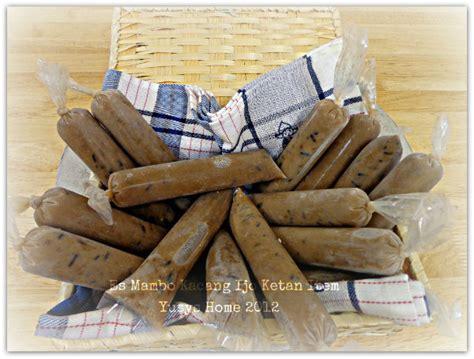 Minyak Kelapa Ijo es mambo kacang hijau ketan hitam yusys home