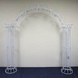 wedding arches and columns beautiful wedding arch display column decoration idea 8ft