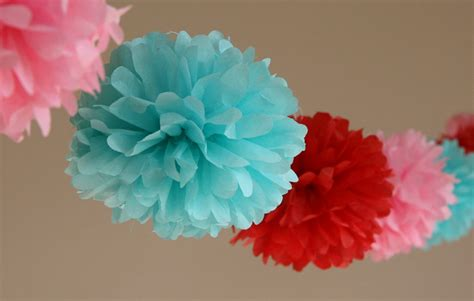 Pom Poms With Tissue Paper - wishes tissue paper pom poms