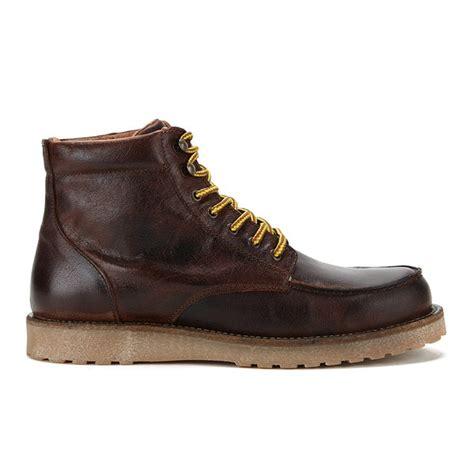 jones s genton leather boots java mens