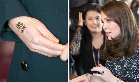 beautiesmoothie kate middleton s tattoo pregnant kate middleton steps out in stunning black dress