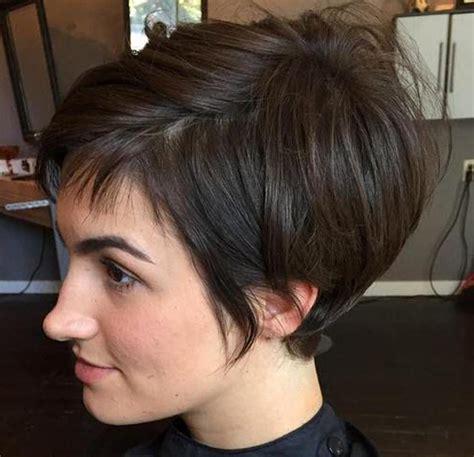 Kurzhaarfrisuren Braun by Kurzhaarfrisuren Damen Braun Trend 2018 Frisuren Frauen
