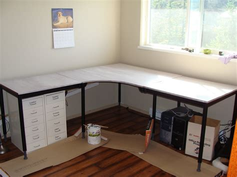 corner desk diy 15 diy l shaped desk for your home office corner desk desks pottery barn inspired and