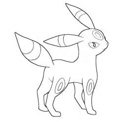 umbreon lineart by skylight1989 on deviantart