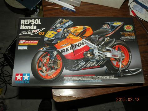 Jual Tamiya Kit Motogp by Tamiya 1 12 Honda Rc211v 03 Moto Gp Valentino Kit W