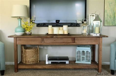 table mounted tv best 25 tv console decorating ideas on tv