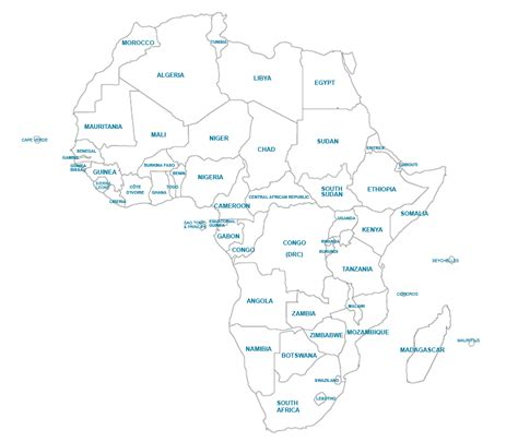 africa map zoomschool africa map 100 images physical map of africa africa