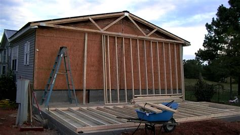 mobile home additions plans mobile home addition part youtube building plans online