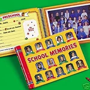 school days keepsake album school memories keepsake scrapbook album k 12 book ca toys