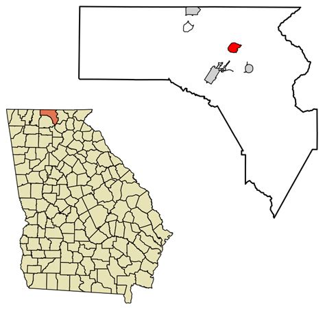Fannin County Ga Records File Fannin County Incorporated And Unincorporated Areas Mineral Bluff