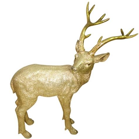 gold deer statue small only 99 99 at garden fun