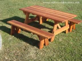 plans for picnic table with detached benches plans for picnic table with detached benches 28 images