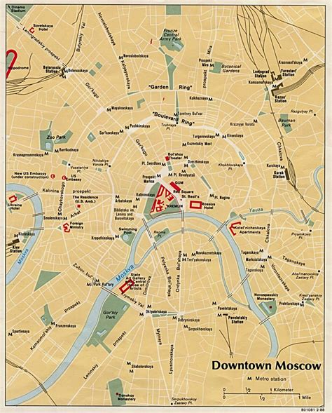 russia tourism map downtown moscow tourist map moscow mappery