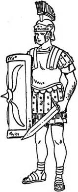 Rome Army Coloring Pages  Bulk Color sketch template