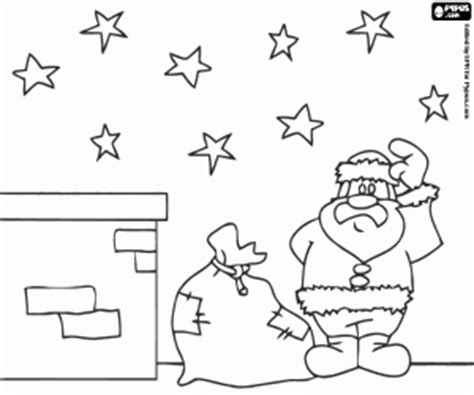 Pictures Of Houses Decorated For Christmas chimneys and fireplaces on christmas coloring pages