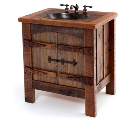 Barnwood Bathroom Vanity Barnwood Bathroom Vanity Using Fascinating Photographs As Ideas Cool House To Home Furniture