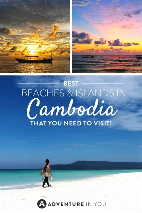 best cambodian beaches cambodia beaches guide to the best islands
