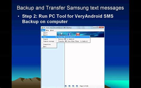 how to save text messages on android copy and save text messages for samsung android phones to pc