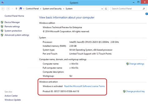 review the windows 10 technical preview license terms windows 10 sysprep sam s corner