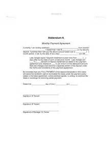 monthly payment contract template best photos of payment agreement contract template
