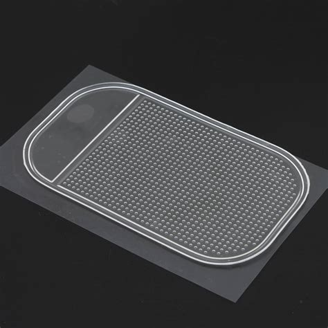 Car Anti Slip Mat Sticky Pad Dasboard Mobil Yellow Kuning car auto dashboard sticky anti non slip mat holder pad for mobile iphone gps ebay