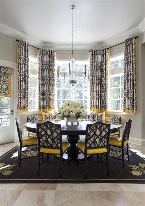 Yellow Dining Room Curtains Ideas 17 Best Ideas About Yellow Dining Room On Pinterest Yellow Paint Colors Yellow Kitchen Walls