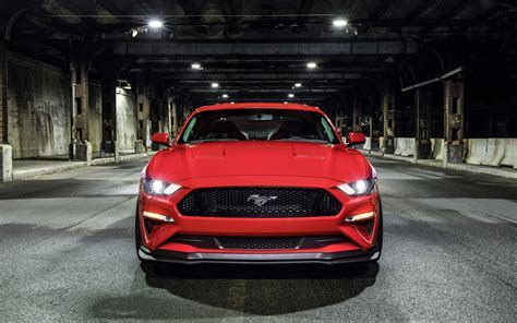 mustang levels 2018 ford mustang gt levels up with new performance pack