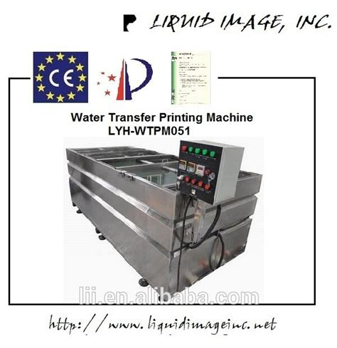 Water Transfer Printing Indonesia D005ab factory outlet water transfer printing machine hydrographic printing machine lyh wtpm051 with