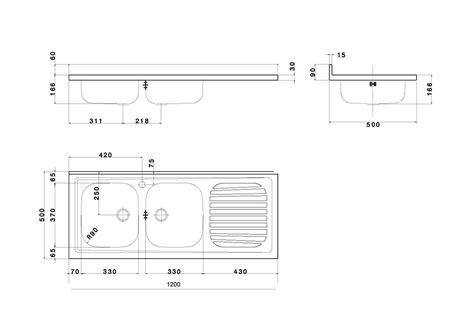 dimensioni lavelli dimensioni lavello cucina doppio
