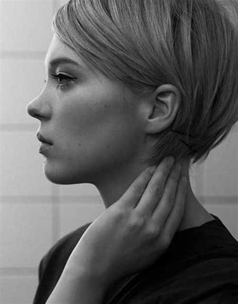 woman short hair cut with ears cut out and side burns 25 best pixie hairstyles 2014 2015 the best short