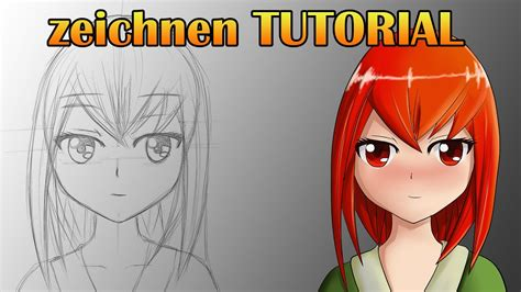 tutorial wacom cintiq 13hd anime zeichnen tutorial deutsch german wacom cintiq