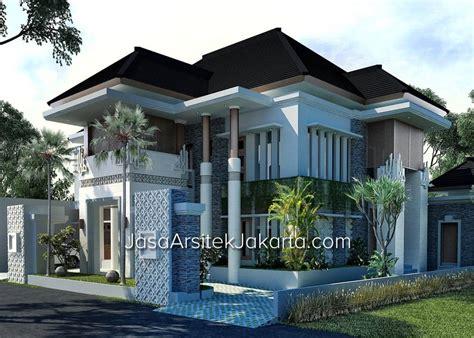 desain kamar mandi gaya bali desain rumah megah double facade luas 570 m2 gaya bali tropis